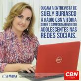 Suely Buriasco fala à Rádio CBN de Vitória