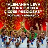 Alemanha leva a Copa e deixa lições preciosas