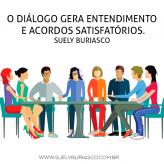 O diálogo gera entendimento e acordos satisfatórios