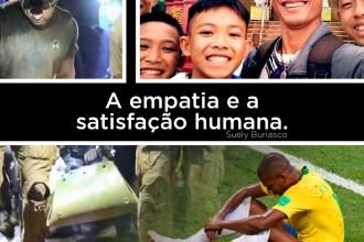 A empatia e a satisfação humana